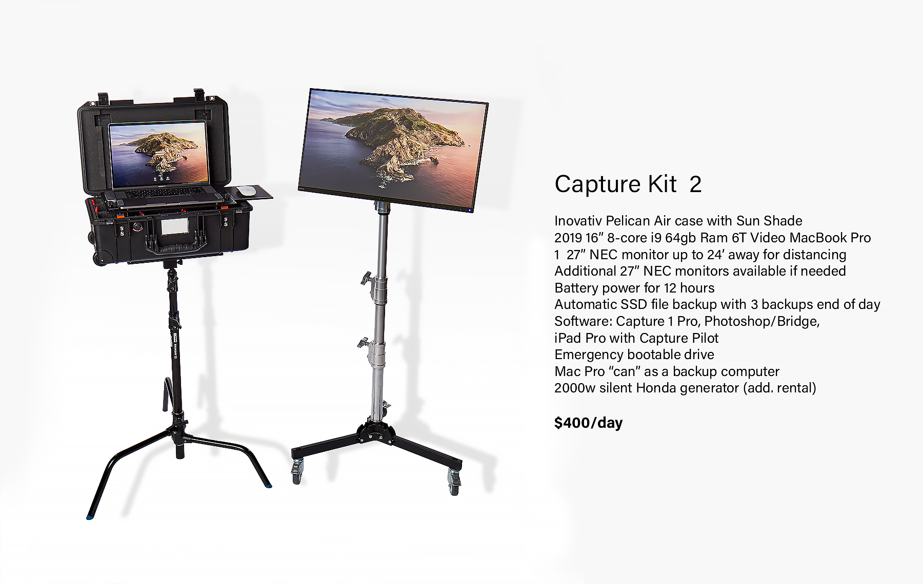 Mac Book Pro Capture Station