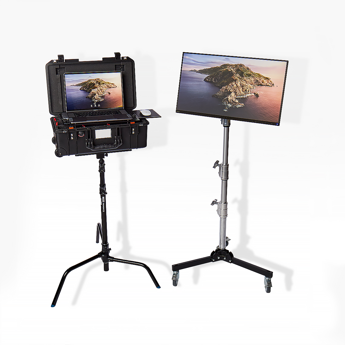 Matt Varnado mobile Capture Station with Macbook Pro